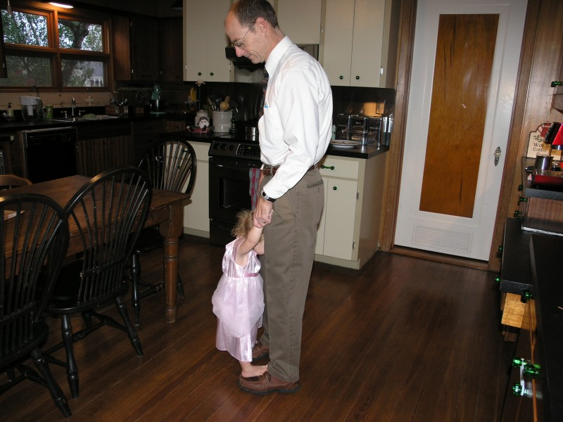 Twirling with Daddy