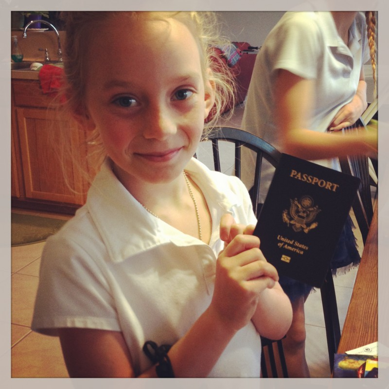 First Passport!