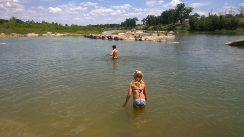 The beautiful Llano river.